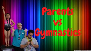 GYMNAST TEACHES PARENTS ROUTINE  Will My Parents Beat me ?!  Family Gymnastics Fun !!