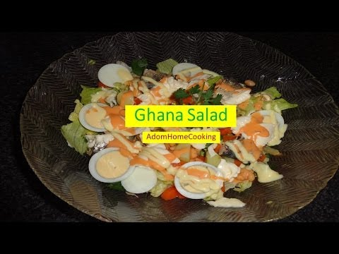 How To Prepare Ghana  Salad