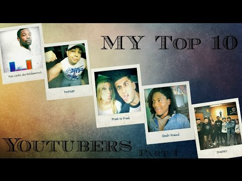 Top 10 YouTubers I watched part 1 - Huskyey