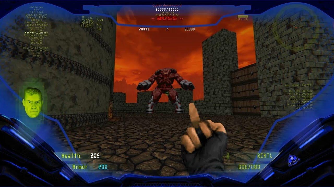 Brutal DOOM v21 Extermination Day Latest Build: Level 20