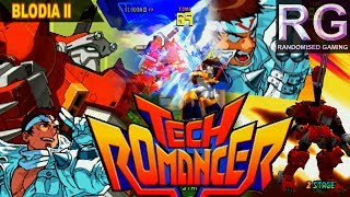 Tech Romancer - Sega Dreamcast - Arcade & Dreamcast intros with Blodia II longplay [HD 1080p]