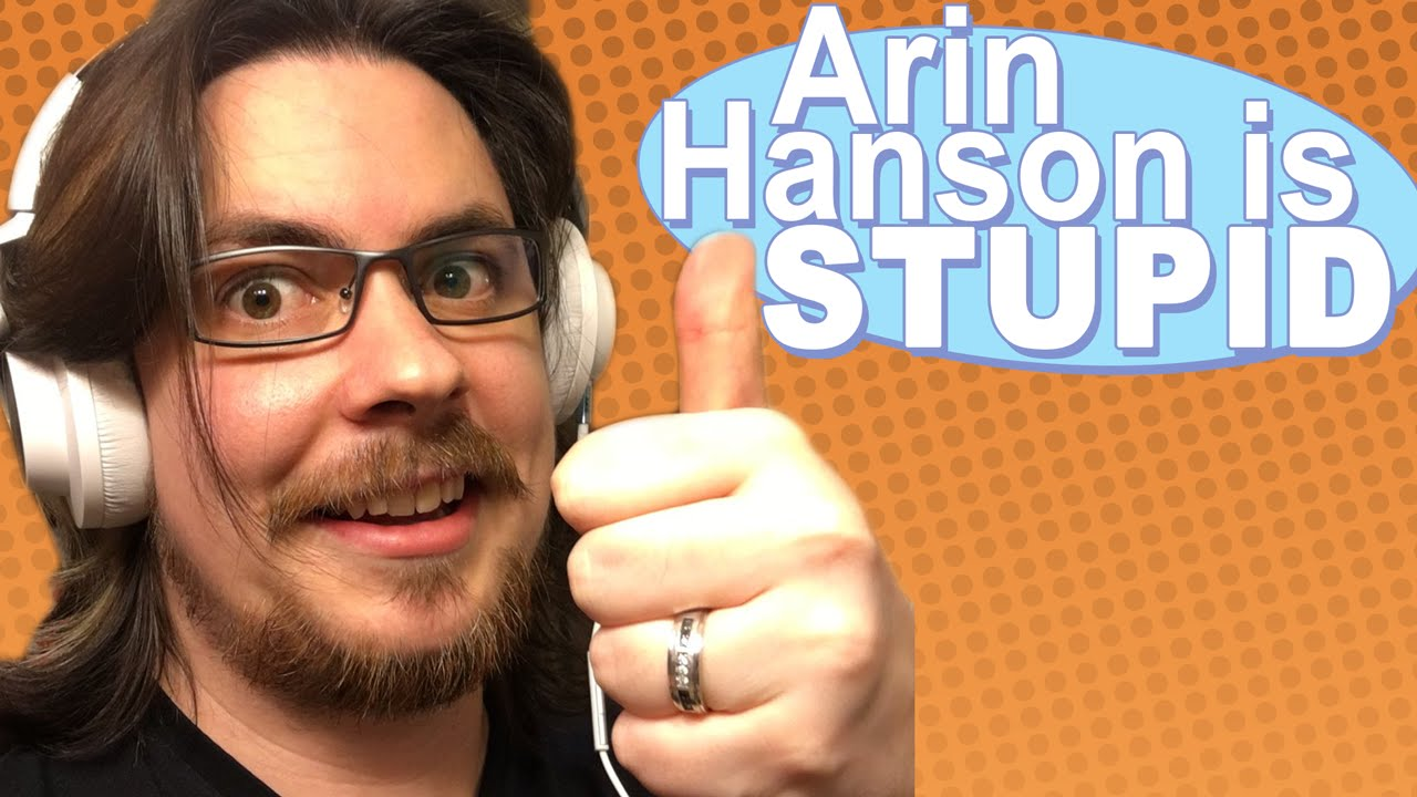 Arin Hanson is STUPID - Game Grumps Remix - YouTube