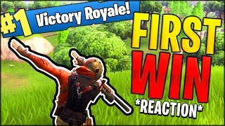 *OUR FIRST WIN & REACTION* THE BEST FORTNITE DUO - Fortnite Battle Royale LIVE