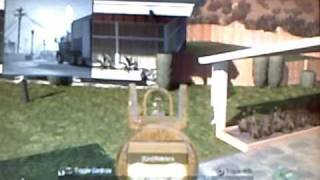 Call of Duty Black Ops - Nuketown glitch(on Red Truck!!!) !NEW!