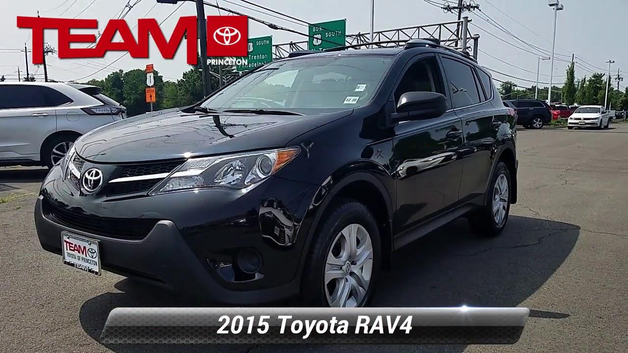 Certified 2015 Toyota RAV4 LE, Lawrenceville, NJ E2656A
