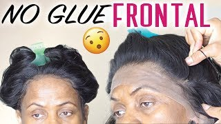 Lace Frontal Sew In NO GLUE - Start To Finish