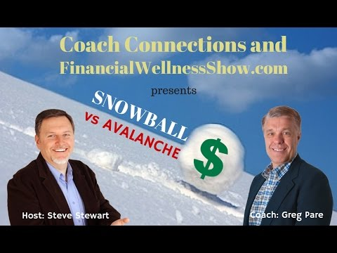 Which is bigger? The Debt Snowball or Debt Avalanche Method to paying off debt