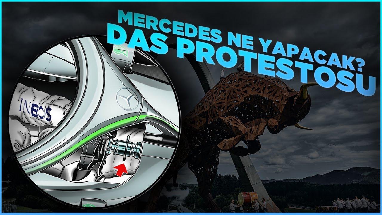 Red Bull, Mercedes'in DAS sistemini protesto edebilir!