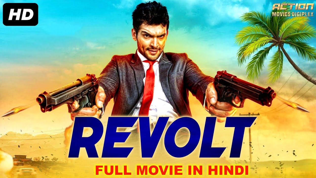 Download REVOLT - Blockbuster Hindi Dubbed Full Action Romantic Movie | Hindi Dubbed Movies | South Movie