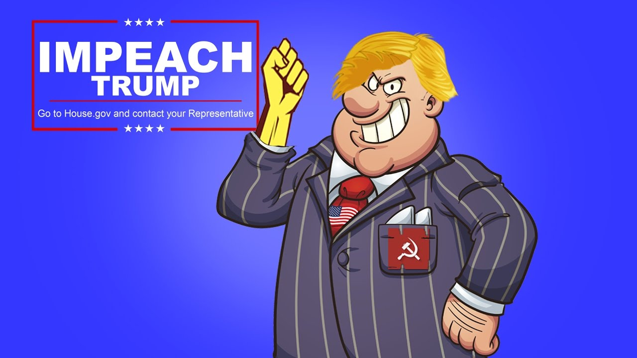 Image result for trump impeachment cartoons