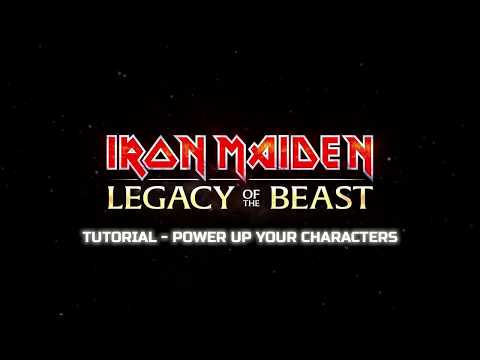 Iron Maiden: Legacy of the Beast - Tutorial: Power up your Characters