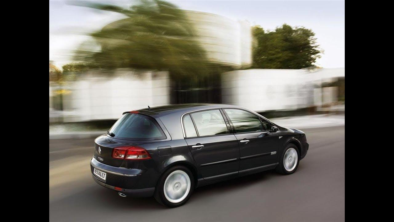 renault vel santis 2 liter diesel version 150hp with 7 3 liters of diesel per 100km in 10 3s [ 1280 x 720 Pixel ]