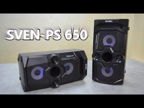 SVEN-PS 650 - работа ДВУХ колонок от ОДНОГО источника   AMD.BY