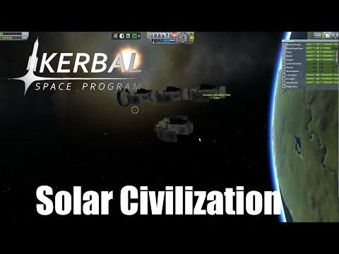 Solar Civilization #44, Fighter Squadron, Kerbal Space Program