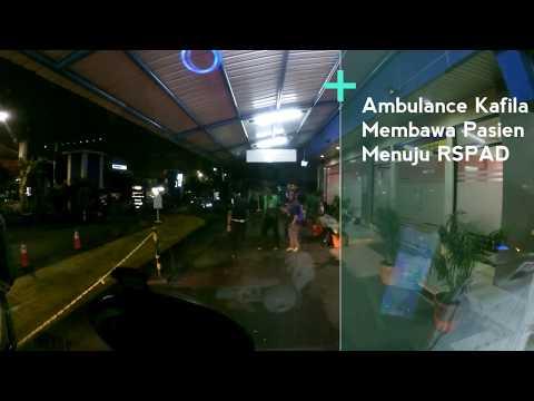 Ambulance Kafila Membawa Pasien Ke RSPAD | Dibantu IEA Jakarta