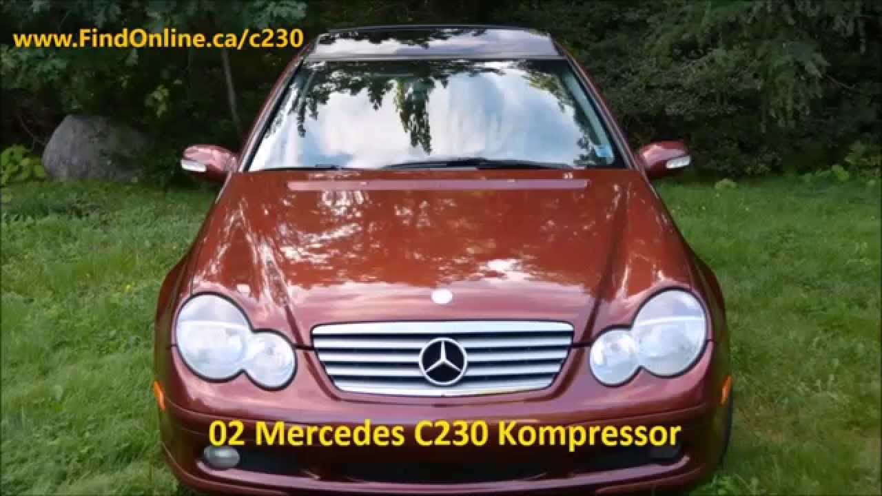 2002 mercedes benz c230 kompressor lower sackville ns for Mercedes benz 2002 c230