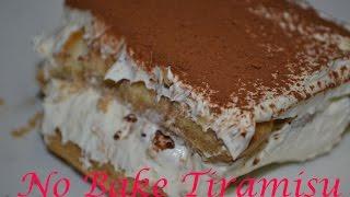 No Bake Tiramisu Cake  (filipino Version)