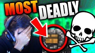 THE MOST DEADLY FIND THE BUTTON MAP IN MINECRAFT Free HD Video