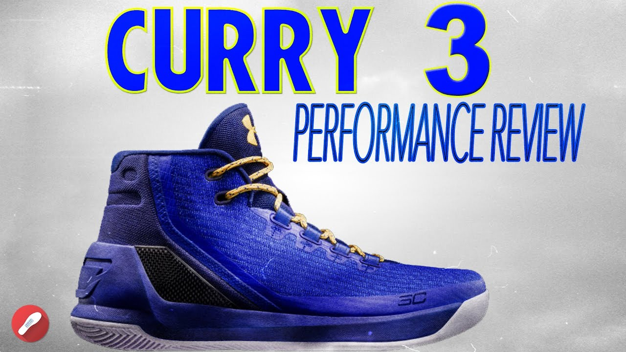 Under Armour Curry 3 Review