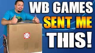 WB GAMES SENT ME A BIG BOX - Unboxing Mortal Kombat 11 Kollectors Edition