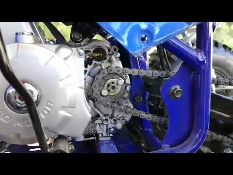 ATV TaoTao Raptor 125cc front sprocket, chain, and rear axle adjustment  bolts upgrades and changes