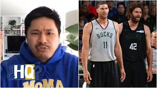 Are the Bucks right to exclude the Lopez twins from their group chat? | Highly Questionable