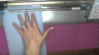 Cutting Fabric with the Silhouette Cameo