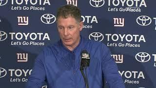 Pat Shurmur Breaks Down Colts Comeback | New York Giants Post Game