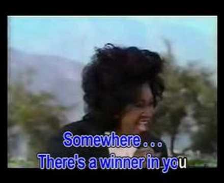 There's a winner in you - Patti LaBelle (Karaoke)