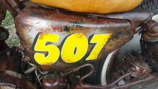 La Rakatak 507 - Rat Style Harley Sportster - rust By: Metro Garage Panamá