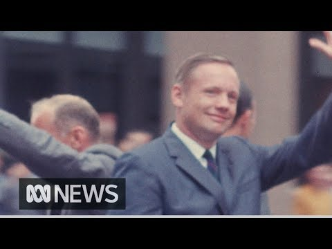 [NO AUDIO] Rare footage of Apollo 11 astronauts' 1969 trip to Australia | RetroFocus
