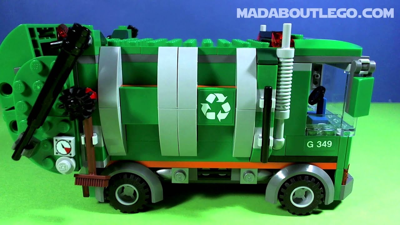 lego juniors garbage truck instructions