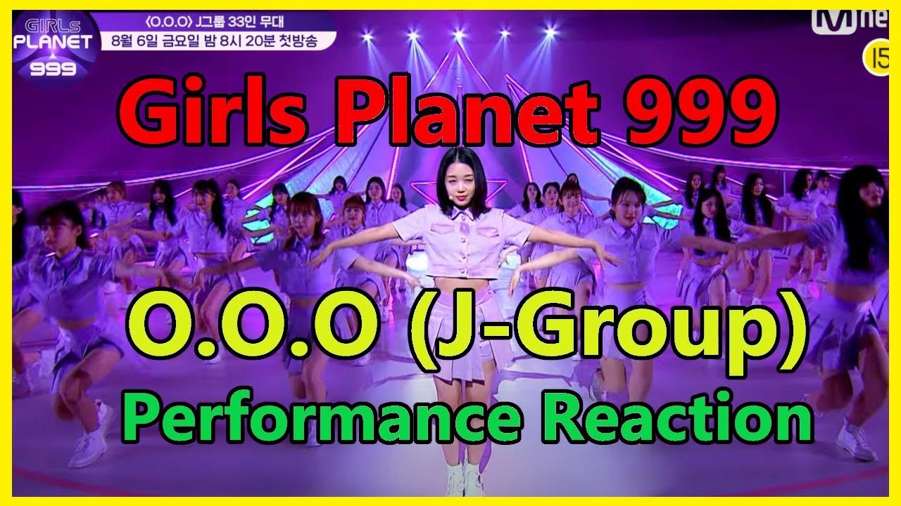 Girls Planet 999 - O.O.O Performance (J-Group ver.) Reaction - Second Group ver. #girlsplanet999