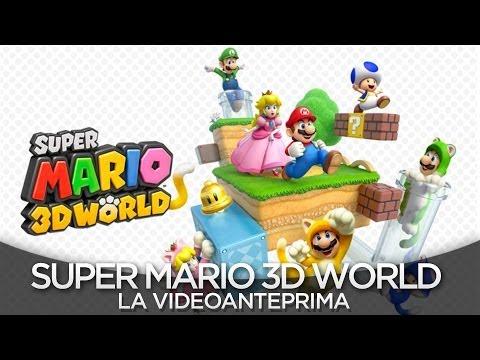Super Mario 3D World - Video Anteprima ITA