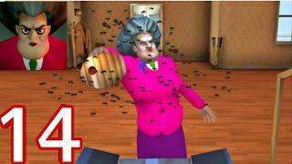 Download lagu Scary Teacher 3D Game Video   Most Scary Teacher Episode 1 Level 14 Walkthrough