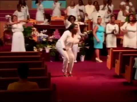 Detroit Gospel Superstar Sydnie BLAND SHINES on the GOSPEL WORLD@Liberty Temple Baptist Church
