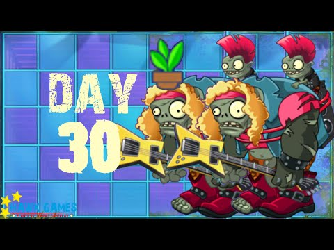 Plants vs Zombies 2 - Neon Mixtape Tour - Day 30 [15 Plants] No Premium