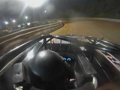 #66c Matt Cosner, heat race, front view, Hagerstown Speedway 8-6-16