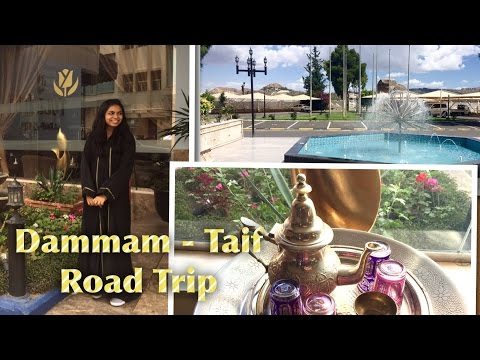 SAUDI VLOG 2  /ROAD TRIP - DAMMAM - RIYADH - TAIF - JEDDAH (RED SEA) KINGDOM TOWER  (EP 43)