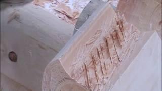 видео сруб бани