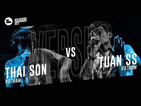 Thai Son (VN) Vs Tuan Ss (VN)|Asia Beatbox Championship 2017 Top 4 Loopstation Beatbox Battle