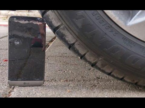 LG G5 Sağlamlık Testi (BMW ile üzerinden geçtik)