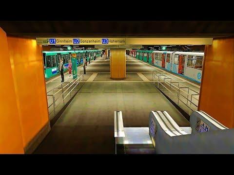 U1 (Frankfurt U-Bahn) Round Trip Trainz A New Era.