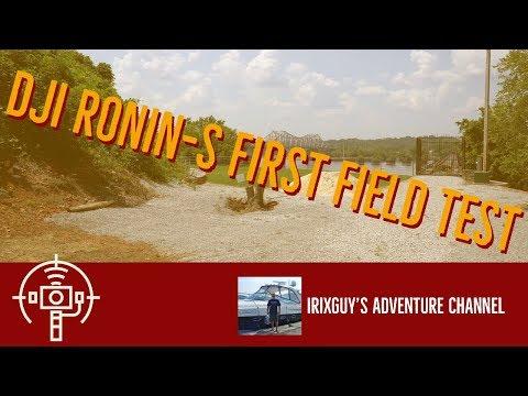 DJI Ronin-S First Field Test