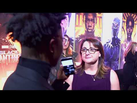 Victoria Alonso Interview at Black Panther European Premiere