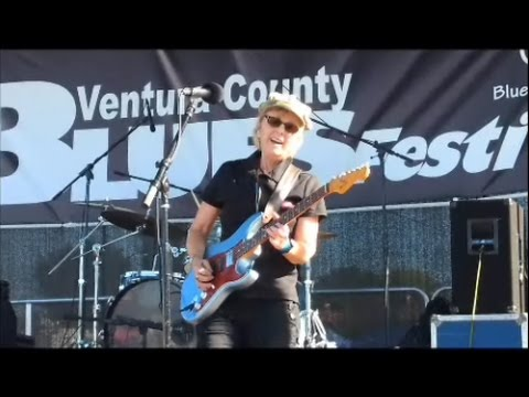 Debbie Davies at the Ventura County Blues Festival 2017