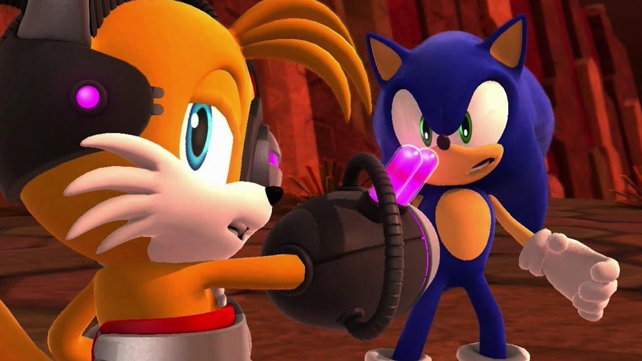 Sonic Lost World Full Movie All Cutscenes Cinematics 1080p Hd Youtube