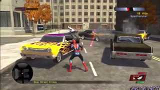 Spider-Man Web Of Shadows PS3 Gameplay #1 [Symbiote INVASION!]
