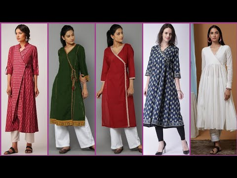 a136cf47b Top Class Beautiful And Outstanding Angarkha Style Kurti /Kurta Dress Design  Idea's 2019Please subscribe my channel