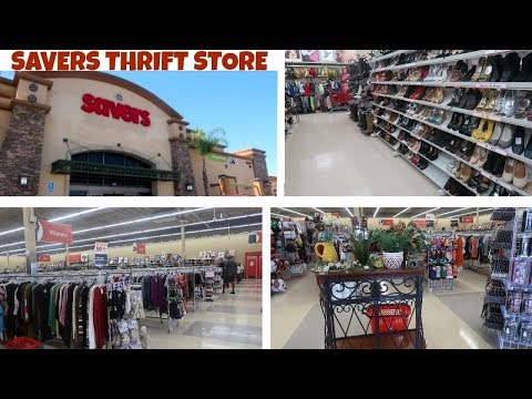 SAVERS THRIFT STORE!! MY FIRST TIME GOING / VLOG!!!